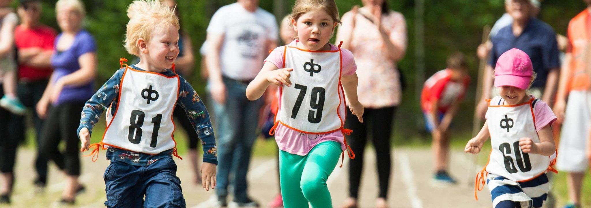 Liikunnallista toimintaa lapsille