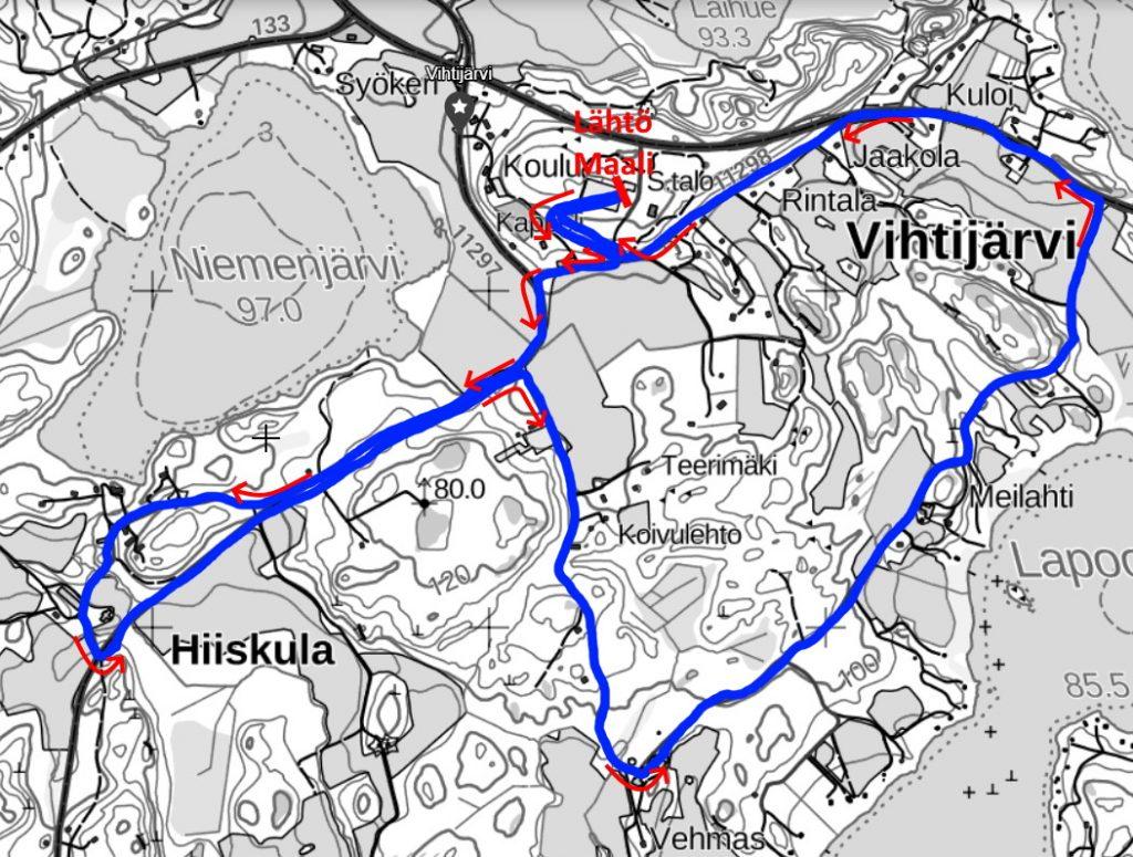 Vihtijärvihölkkä 10 km